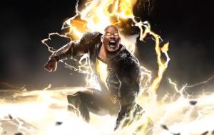 """""""Adão Negro"""": Dwayne Johnson mostra caracterização de personagem"""
