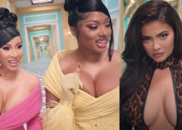 """Fãs criam petição para Kylie Jenner ser removida do clipe de """"WAP"""", faixa de Cardi B e Megan Thee Stallion"""