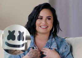 Marshmello sugere parceria com Demi Lovato