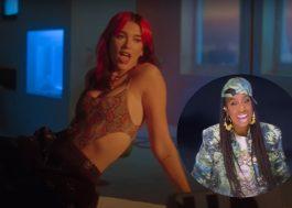 """Dua Lipa divulga clipe do remix de """"Levitating"""" com Missy Elliott e Madonna"""