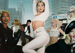 """Dua Lipa libera teaser inédito do clipe de """"Levitating"""", com Madonna e Missy Elliott"""