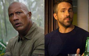 The Rock e Ryan Reynolds lideram ranking da Forbes de atores mais bem pagos de 2020