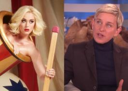 """Só tive experiências positivas no programa"", diz Katy Perry sobre polêmica envolvendo Ellen DeGeneres"