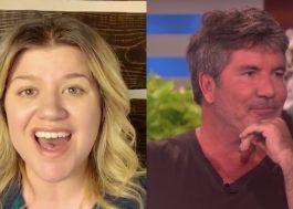 "Kelly Clarkson substituirá Simon Cowell, que sofreu acidente, em ""America's Got Talent"""