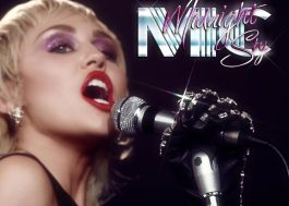 "Miley Cyrus anuncia o novo single, ""Midnight Sky"", para semana que vem"