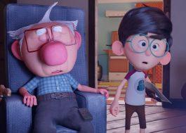 """""""Napo"""": Neto ajuda o avô a recuperar as memórias no trailer da animação brasileira"""