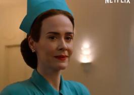 """""""Ratched"""": Sarah Paulson vive enfermeira maníaca no 1ª trailer da série"""