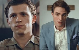 """Tom Holland e Robert Pattinson vivem cenas de tensão no trailer de """"O Diabo de Cada Dia"""""""