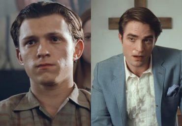 Tom Holland e Robert Pattinson em trailer (Reprodução)