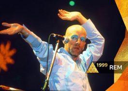 R.E.M.: banda vai exibir show completo no Glastonbury Festival 1999 nesta quinta (6)