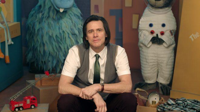 """Jim Carrey na série """"Kidding"""" (Reprodução)"""