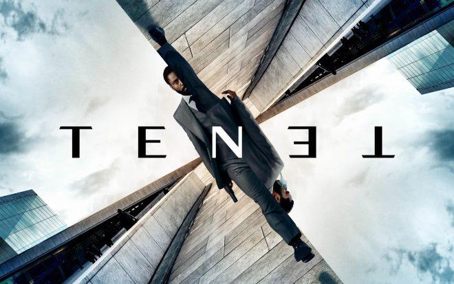 """Cartaz de """"Tenet"""" (Divulgação)"""