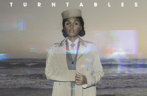 """Janelle Monáe em capa do single """"Turntables"""" (Divulgação)"""