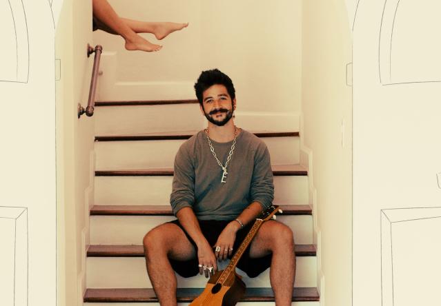 """Camilo na capa do single """"Vida de Rico"""" (Reprodução)"""