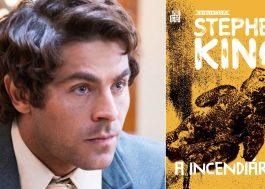 """Zac Efron irá estrelar reboot de """"Chamas da Vingança"""", filme inspirado em livro de Stephen King"""