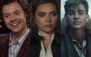 """Harry Styles se une a Florence Pugh e Chris Pine no elenco do filme """"Don't Worry Darling"""""""