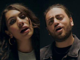 """Alessia Cara e Ali Gatie no clipe de """"Welcome Back"""" (Reprodução)"""