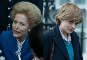 """Thatcher e Diana em """"The Crown"""""""