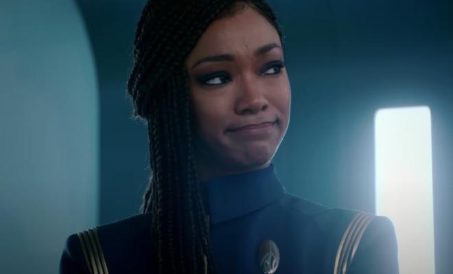 """Sonequa Martin-Green em trailer de """"Star Trek: Discovery"""" (Reprodução)"""