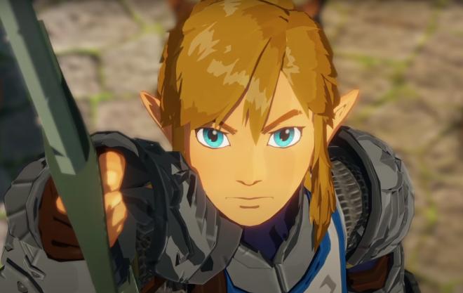 Link empunha espada no trailer de novo jogo (Reprodução)