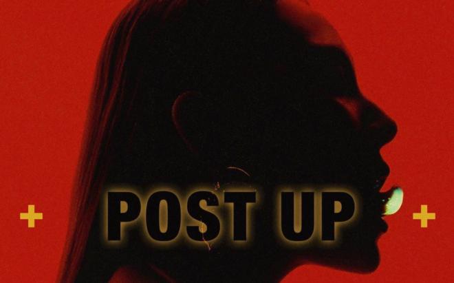 """CL na capa da música """"Post Up"""" (Divulgação)"""