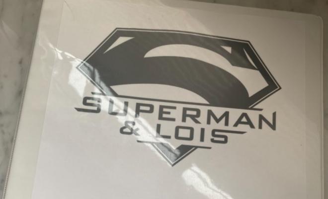 """Logo da série """"Superman & Lois"""" (Reprodução)"""