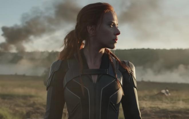 """Scarlett Johansson em trailer de """"Viúva Negra"""" (Reprodução)"""