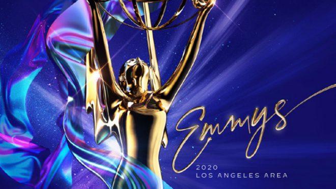 Pôster oficial do Emmy 2020 (Divulgação)