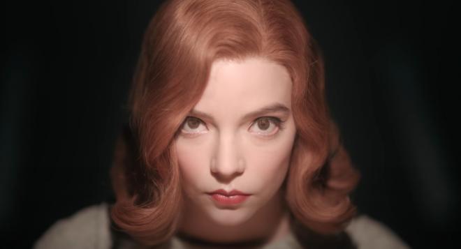 """Anya Taylor-Joy na minissérie """"O Gambito da Rainha"""" (Reprodução)"""