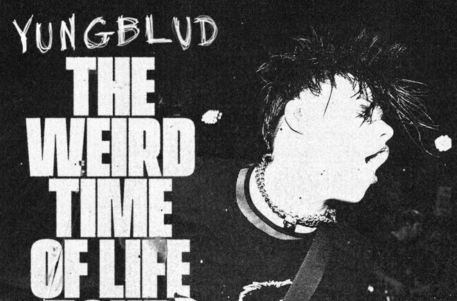 "Cartaz promocional da ""The Weird Time of Life Tour"" (Divulgação)"