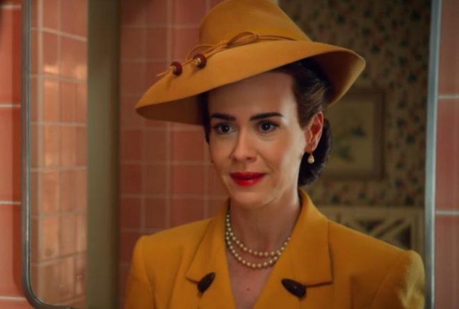 """Sarah Paulson no trailer de """"Ratched"""" Foto: Reprodução"""