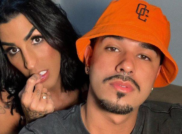 Pepita e Kayque Nogueira em foto publicada no Instagram (Reprodução)