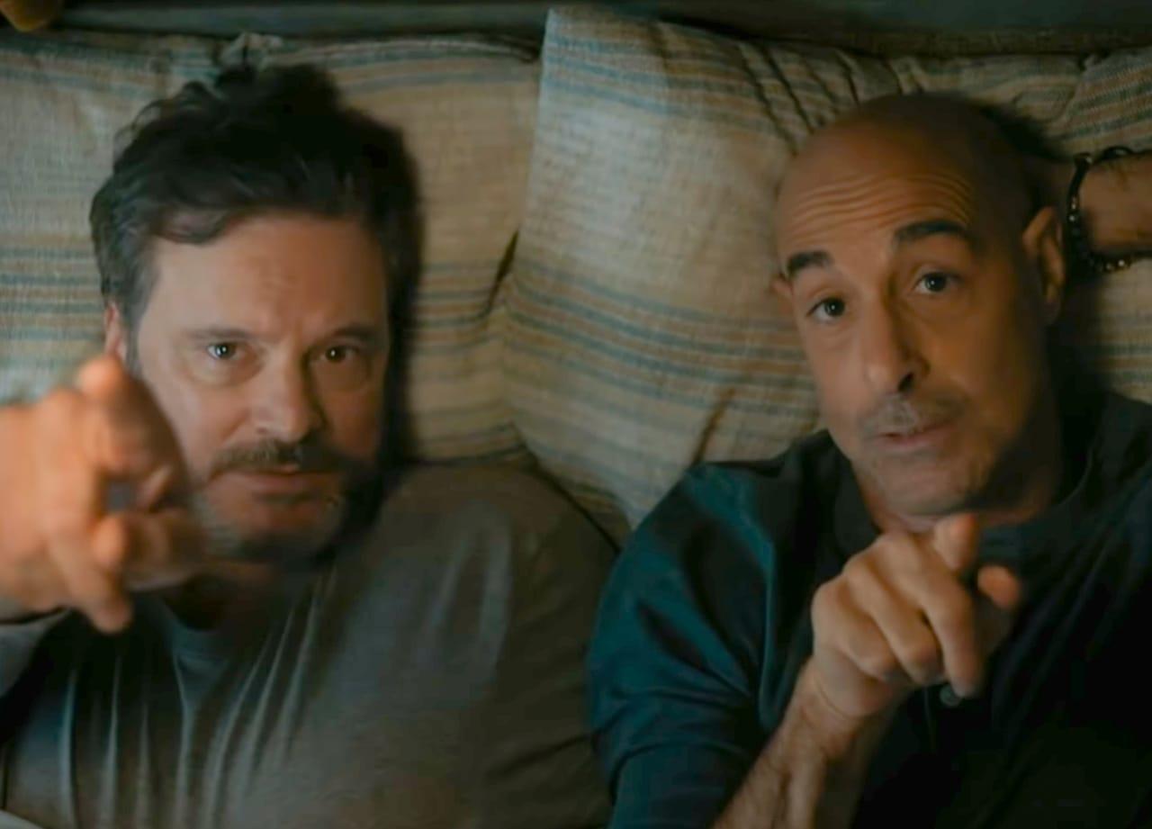 Colin Firth e Stanley Tucci vivem casal em Supernova (Foto: Divulgação)