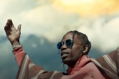 Travis em cena de videoclipe (Foto: Reprodução)