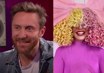 David Guetta em entrevista ao Channel 4 News e Sia em entrevista à rádio SiriusXM (Reprodução)