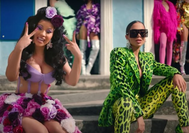 """Cardi B e Anitta no clipe de """"Me Gusta"""" (Reprodução)"""