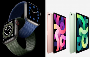 Apple anuncia lançamento de novos e mais potentes Apple Watch e iPad