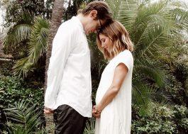 Ashley Tisdale anuncia que está gravida do primeiro filho