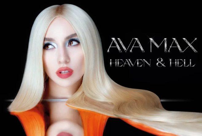 """Capa do álbum """"Heaven & Hell"""", da Ava Max (Divulgação)"""