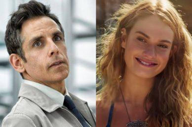 """Ben Stiller em """"A Vida Secreta de Walter Mitty"""" e Lily James em """"Mamma Mia 2"""" (Reprodução)"""