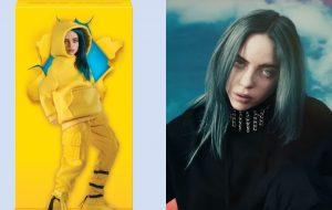 """Billie Eilish lançará bonecas inspiradas nos clipes de """"Bad Guy"""" e """"All The Good Girls Go To Hell"""""""