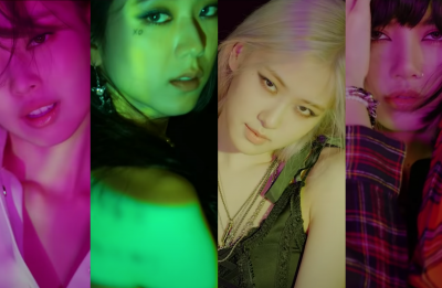 Integrantes do BLACKPINK em teasers de álbum (Reprodução)