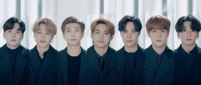 Membros do BTS em vídeo para ONU (Reprodução)
