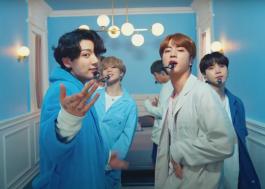 """BTS faz festinha do pijama em apresentação de """"Home"""" no programa do Jimmy Fallon"""