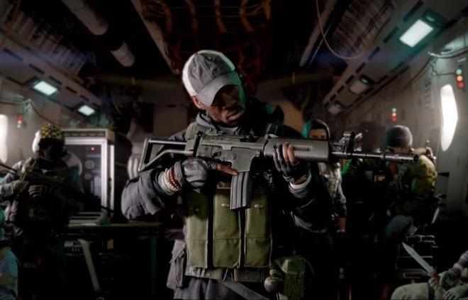 """Cena do trailer do novo jogo """"Call of Duty"""" (Reprodução)"""