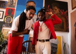 Thiago Elniño e Rincon Sapiência celebram força da cultura africana em novo clipe