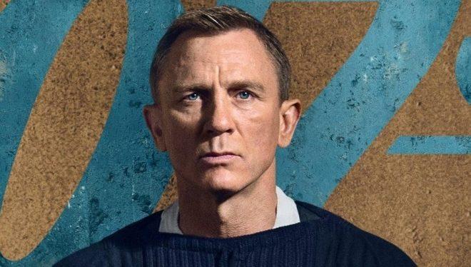 """Daniel Craig em pôster de """"007: Sem Tempo Para Morrer"""" (Divulgação)"""