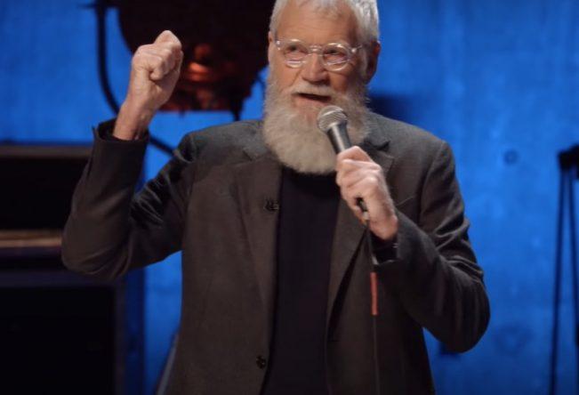 "David Letterman em ""My Next Guest Needs No Introduction"" (Reprodução)"