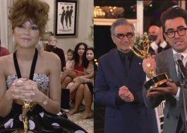 """Emmy 2020: Zendaya faz história e """"Schitt's Creek"""" sai como grande vencedora"""