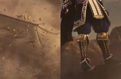 """Cenas do trailer de """"Dynasty Warrior 9"""" (Reprodução)"""